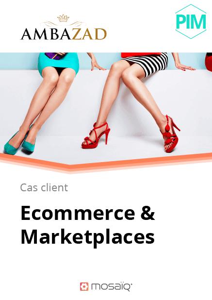 Référence ecommerce et marketplace Ambazad par Mosaïq
