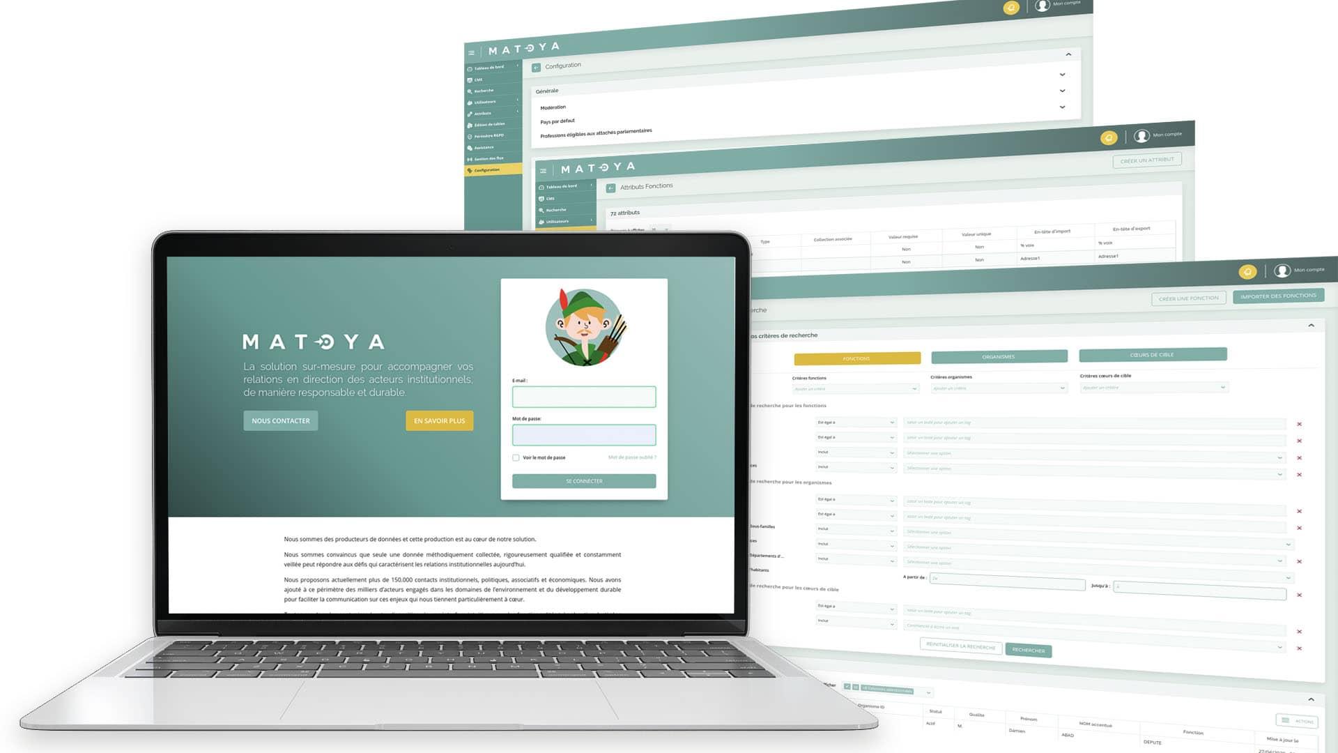 Matoya-interface-PIM-Mosaïq