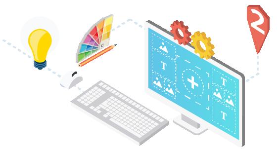Création graphique templates catalogue automatique